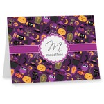 Halloween Note cards (Personalized)