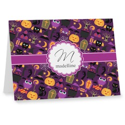 Halloween Notecards (Personalized)