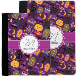 Halloween Notebook Padfolio w/ Name and Initial