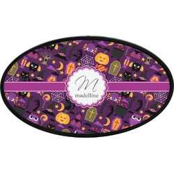 Halloween Oval Trailer Hitch Cover (Personalized)
