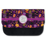 Halloween Canvas Pencil Case w/ Name and Initial
