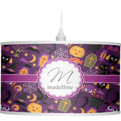 Halloween Drum Pendant Lamp (Personalized)