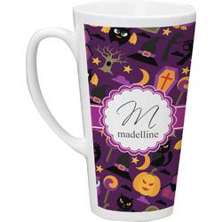 Halloween 16 Oz Latte Mug (Personalized)
