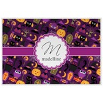 Halloween Laminated Placemat w/ Name and Initial