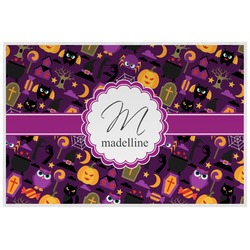 Halloween Placemat (Laminated) (Personalized)