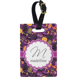 Halloween Rectangular Luggage Tag (Personalized)