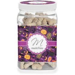 Halloween Dog Treat Jar (Personalized)