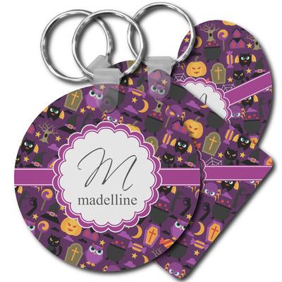 Halloween Plastic Keychains (Personalized)