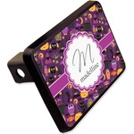 """Halloween Rectangular Trailer Hitch Cover - 2"""" (Personalized)"""