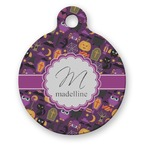 Halloween Round Pet Tag (Personalized)
