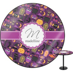 Halloween Round Table (Personalized)
