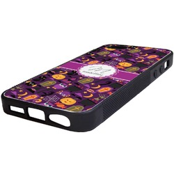 Halloween Rubber iPhone 5/5S Phone Case (Personalized)