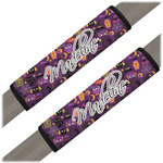 Halloween Seat Belt Covers (Set of 2) (Personalized)