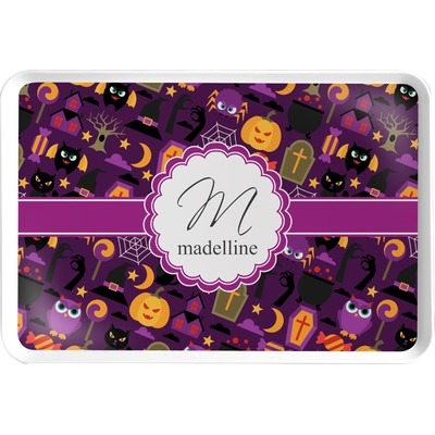 halloween serving tray personalized