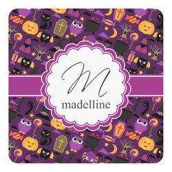Halloween Square Decal - Medium (Personalized)