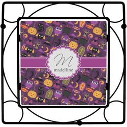 Halloween Square Trivet (Personalized)
