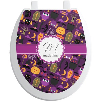 Halloween Toilet Seat Decal (Personalized)