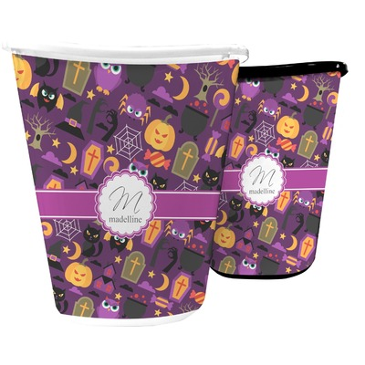 Halloween Waste Basket (Personalized)