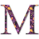 Halloween Letter Decal - Custom Sized (Personalized)