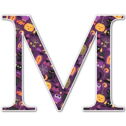 Halloween Letter Decal - Custom Sizes (Personalized)