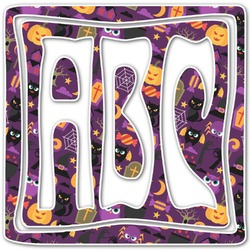 Halloween Monogram Decal - Custom Sized (Personalized)