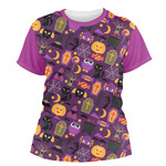 Halloween Women's Crew T-Shirt (Personalized)