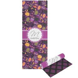 Halloween Yoga Mat - Printable Front and Back (Personalized)