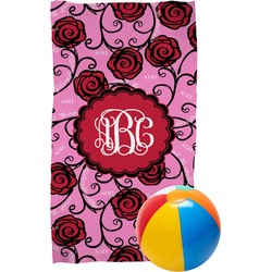 Alpha Omicron Pi Beach Towel (Personalized)