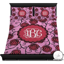 Alpha Omicron Pi Duvet Cover Set (Personalized)