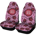 Alpha Omicron Pi Car Seat Covers (Set of Two) (Personalized)