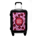 Alpha Omicron Pi Carry On Hard Shell Suitcase (Personalized)