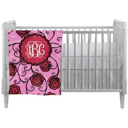 Alpha Omicron Pi Crib Comforter / Quilt (Personalized)