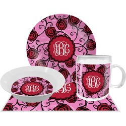Alpha Omicron Pi Dinner Set - 4 Pc (Personalized)