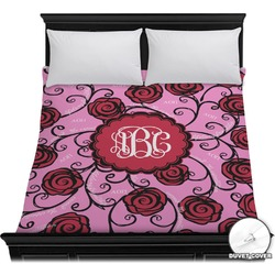 Alpha Omicron Pi Duvet Cover (Personalized)