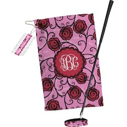 Alpha Omicron Pi Golf Towel Gift Set (Personalized)