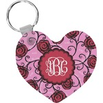 Alpha Omicron Pi Heart Keychain (Personalized)