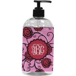 Alpha Omicron Pi Plastic Soap / Lotion Dispenser (Personalized)