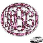 Alpha Omicron Pi Monogram Car Decal (Personalized)