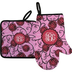 Alpha Omicron Pi Oven Mitt & Pot Holder (Personalized)
