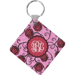 Alpha Omicron Pi Diamond Key Chain (Personalized)