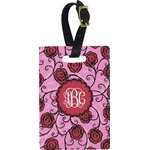 Alpha Omicron Pi Rectangular Luggage Tag (Personalized)