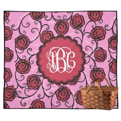 Alpha Omicron Pi Outdoor Picnic Blanket (Personalized)
