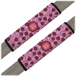 Alpha Omicron Pi Seat Belt Covers (Set of 2) (Personalized)