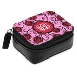 Alpha Omicron Pi Small Leatherette Travel Pill Case (Personalized)