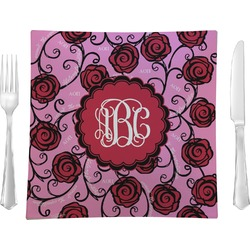 Alpha Omicron Pi Square Dinner Plate (Personalized)
