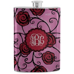 Alpha Omicron Pi Stainless Steel Flask (Personalized)