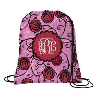 Alpha Omicron Pi Drawstring Backpack - Small (Personalized)