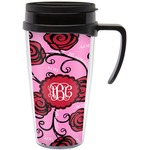 Alpha Omicron Pi Travel Mug with Handle (Personalized)