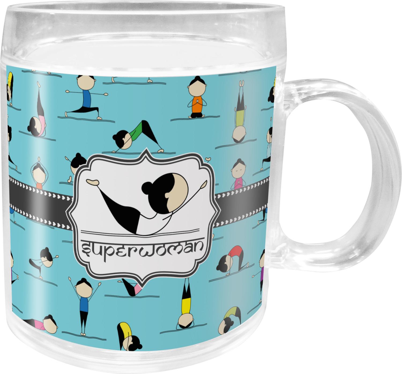 Baby Gifts Yoga : Yoga poses acrylic kids mug personalized youcustomizeit