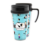 Yoga Poses Acrylic Travel Mugs (Personalized)